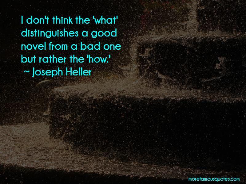 Good Novel Quotes