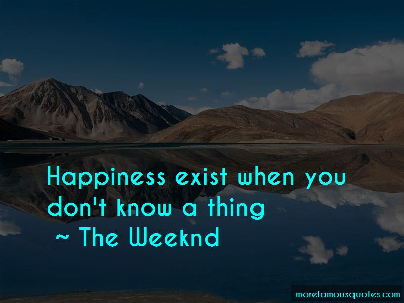 Happiness Exist Quotes
