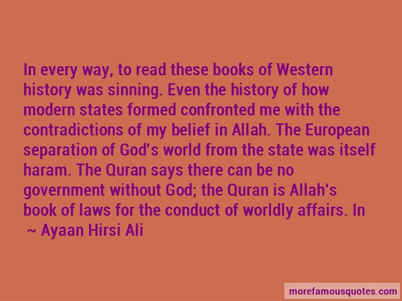 Haram Quran Quotes