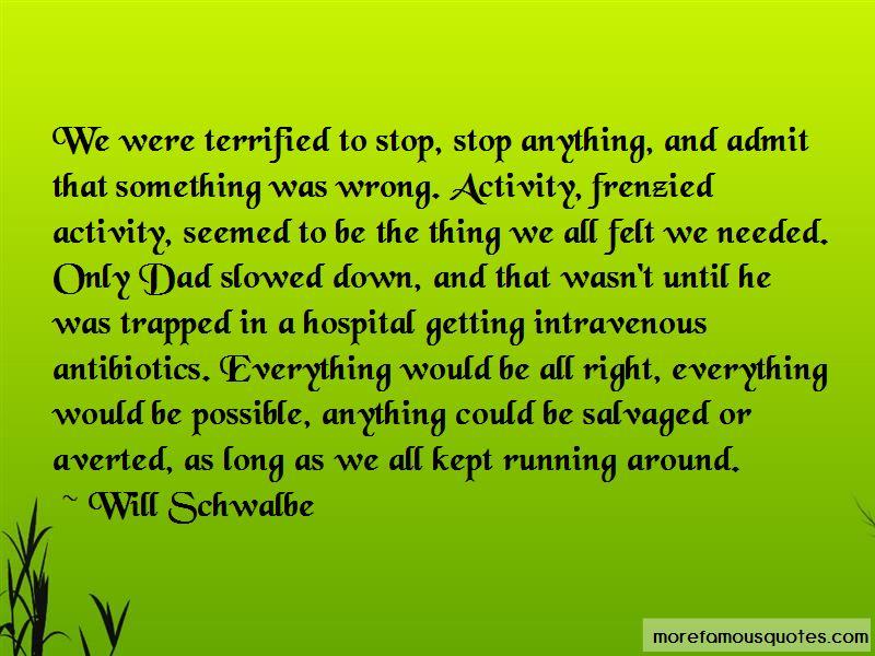 Hospital Admit Quotes
