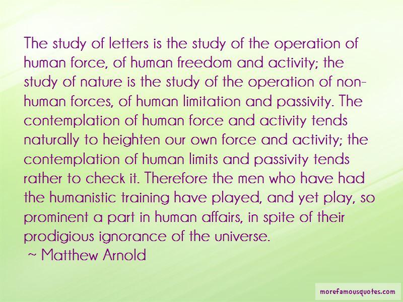 Human Limitation Quotes