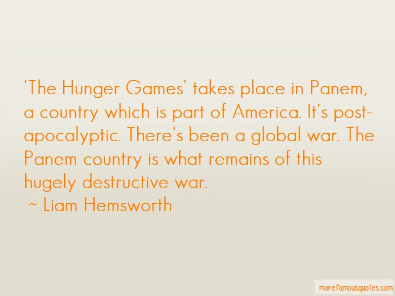 Hunger Games War Quotes