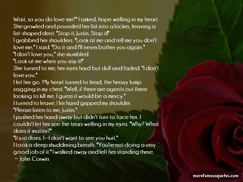 I Hope I Never See You Again Quotes