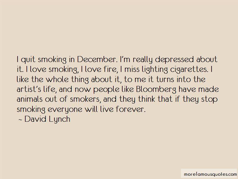 I Love Smoking Quotes