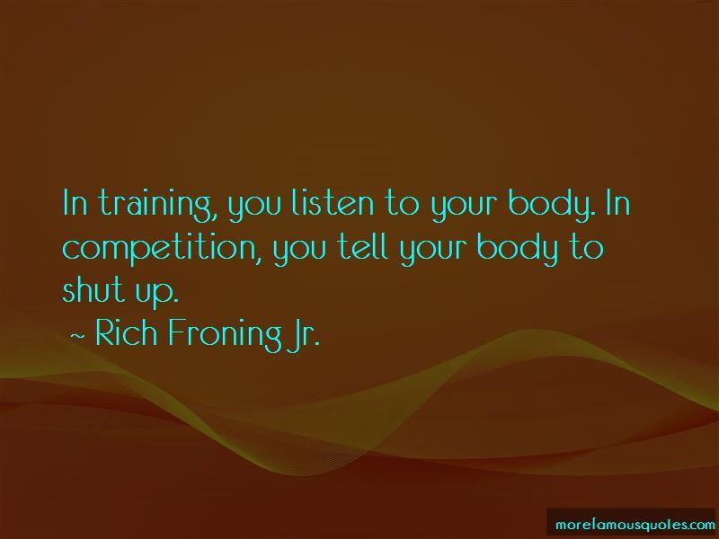 In Training Quotes