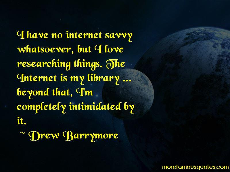 Internet Savvy Quotes