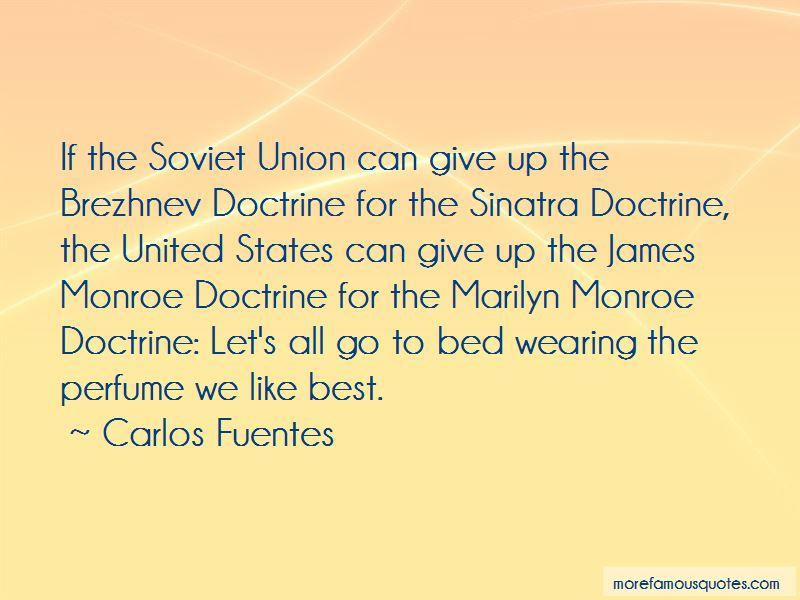 James Monroe Doctrine Quotes