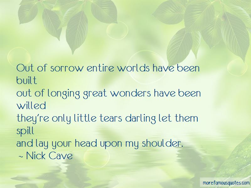 Lay On Your Shoulder Quotes Pictures 4
