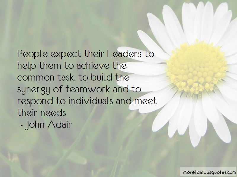 Leaders And Teamwork Quotes