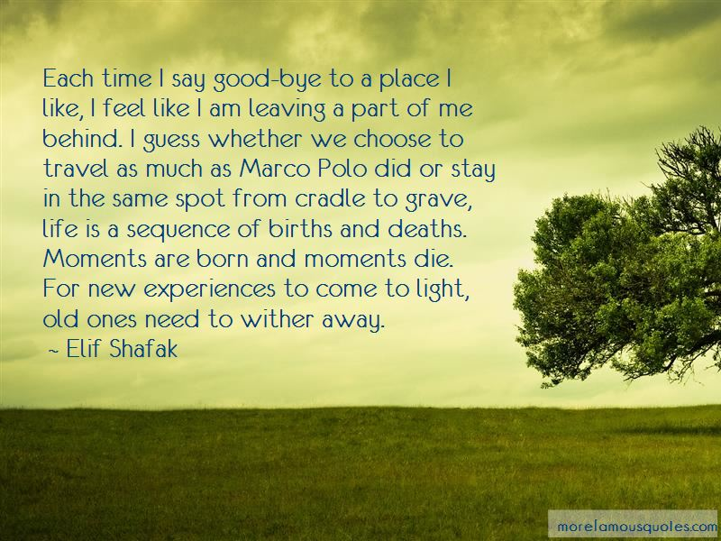 Leaving My Old Life Behind Quotes Pictures 2