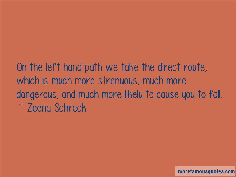 Left Hand Path Quotes Pictures 2