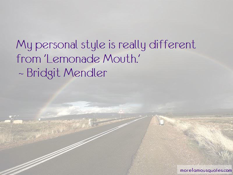Lemonade Mouth Quotes
