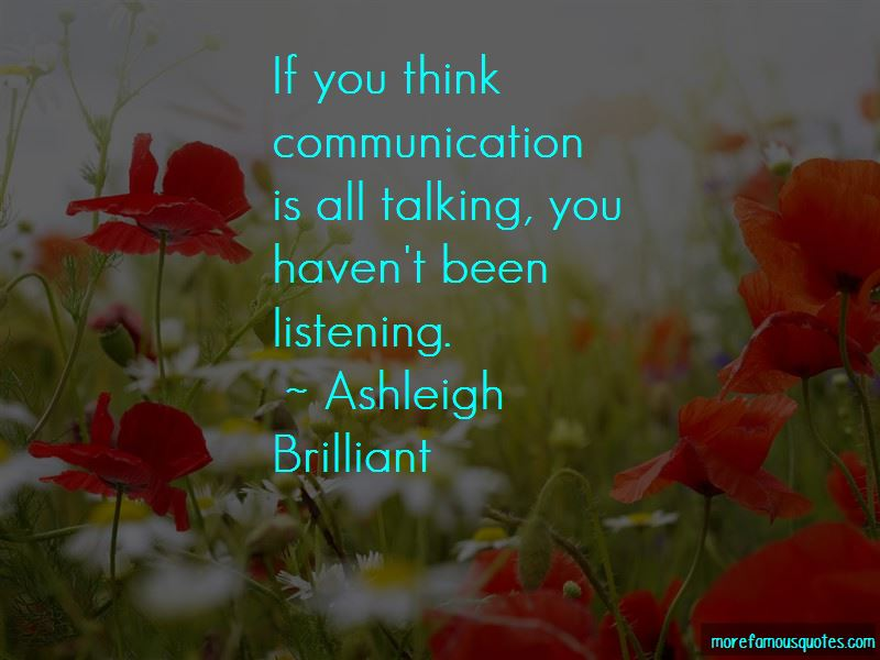 Listening Communication Quotes Pictures 2