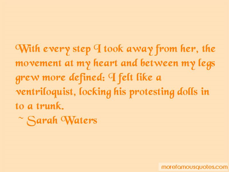 Locking My Heart Away Quotes