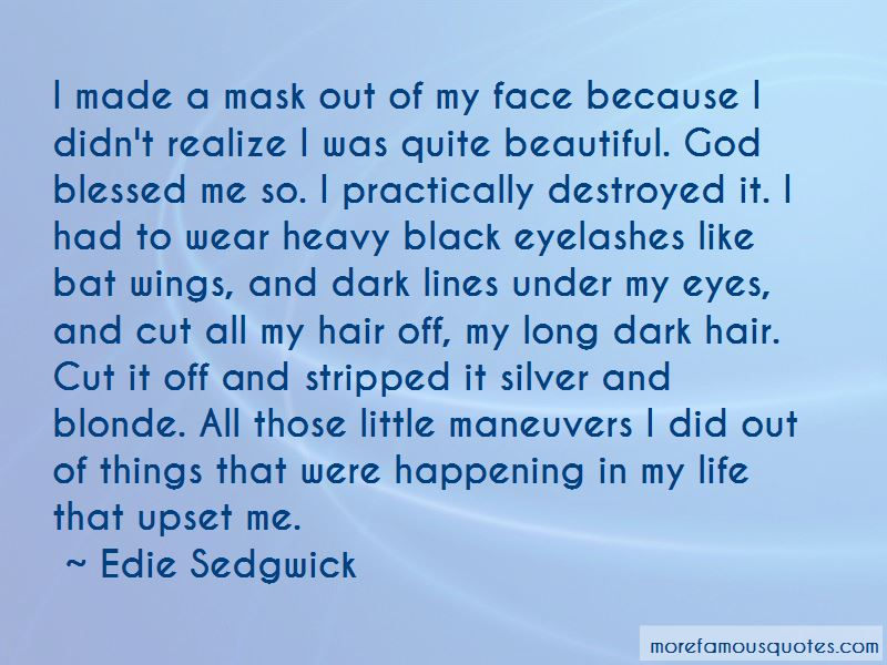 Long Dark Hair Quotes Pictures 2