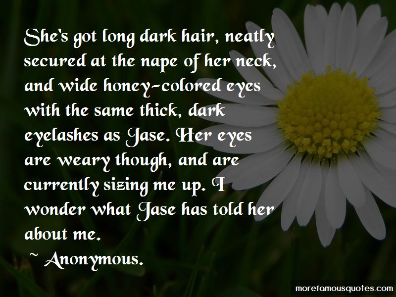 Long Dark Hair Quotes Pictures 4