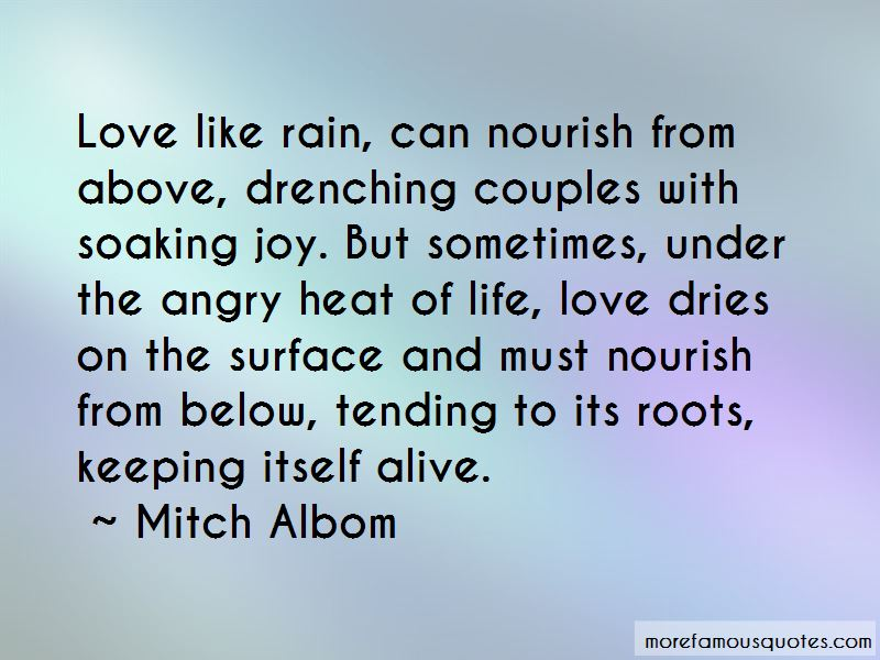 Love Couples In Rain With Quotes