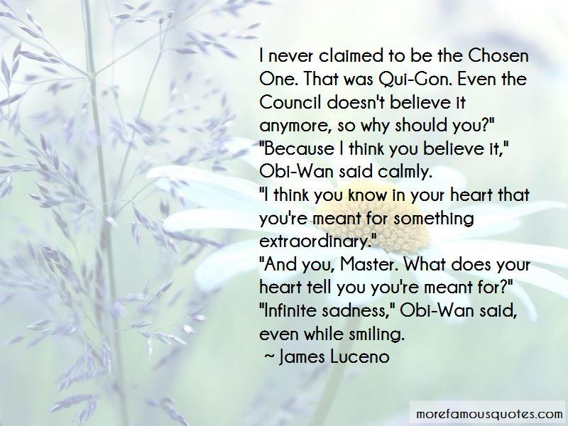 Master Qui Gon Quotes