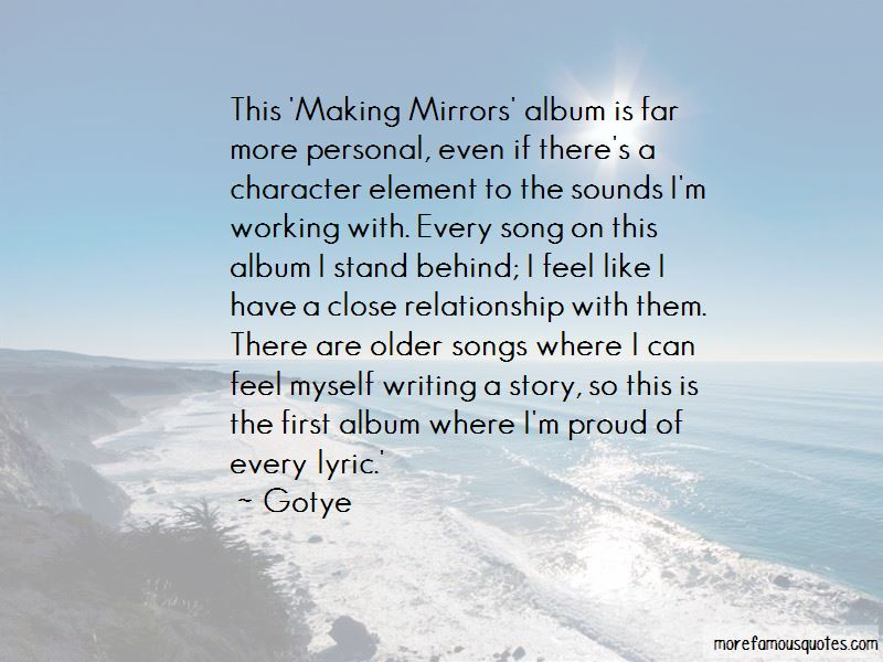 Mirrors Song Quotes