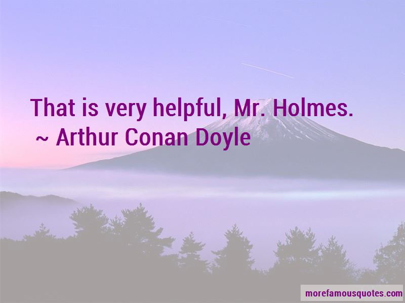 Mr Holmes Quotes