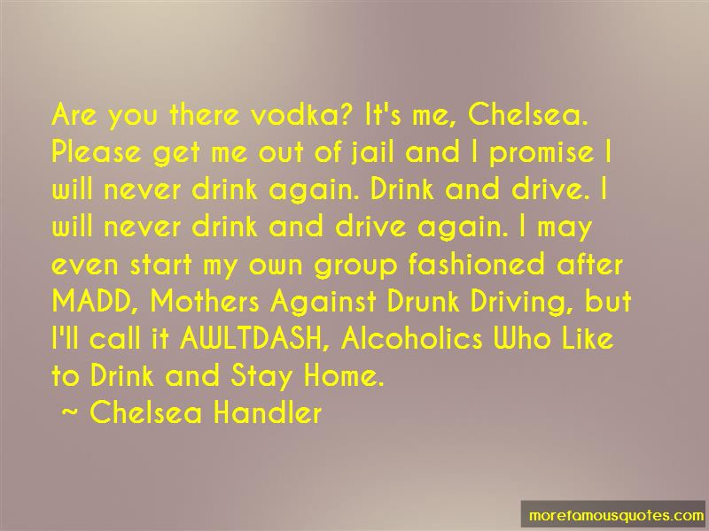Never Drink And Drive Quotes