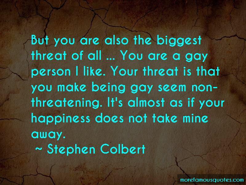 Non Threatening Quotes Pictures 4