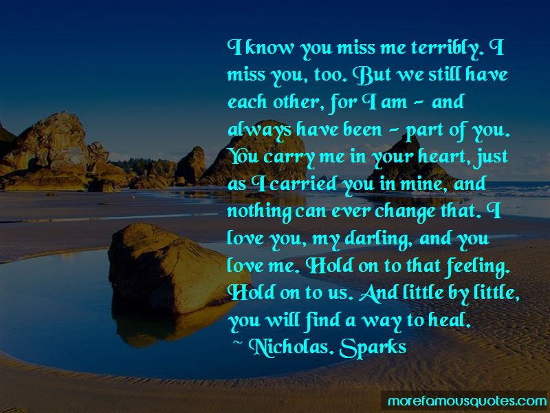 Nothing Will Ever Change My Love For You Quotes