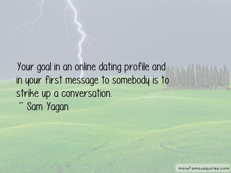 Online Dating Profile Quotes