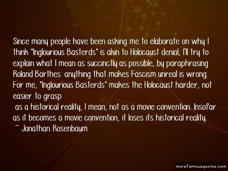 Paraphrasing Movie Quotes