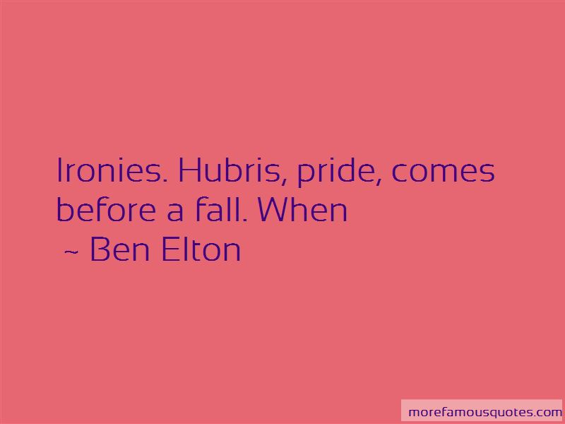 Pride Comes Before The Fall Quotes Pictures 2
