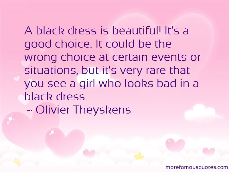Quotes About A Girl In A Black Dress