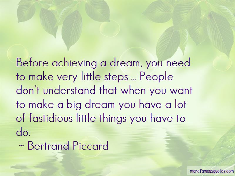 Achieving A Dream Quotes Pictures 2