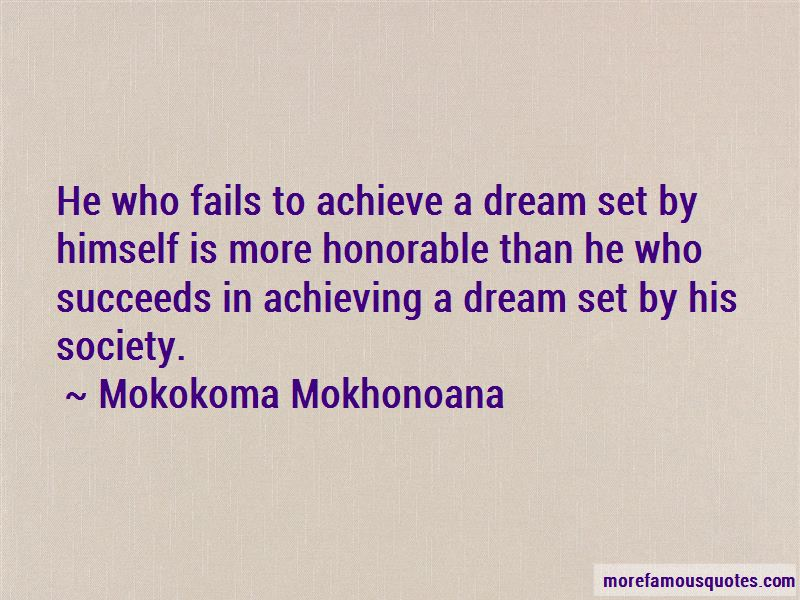 Quotes About Achieving A Dream