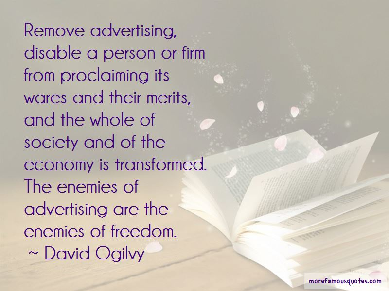 Advertising And Society Quotes Pictures 2