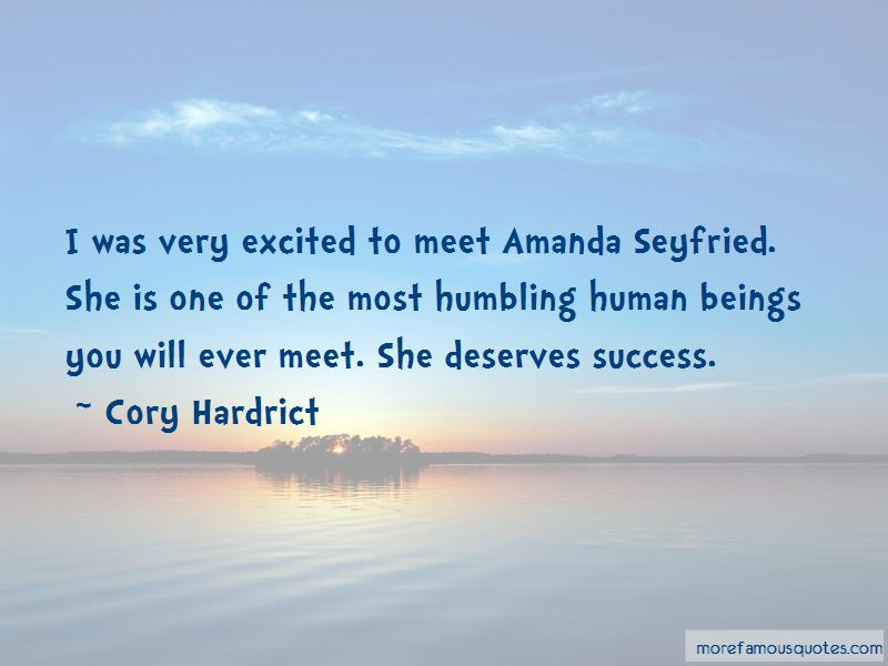 Quotes About Amanda Seyfried