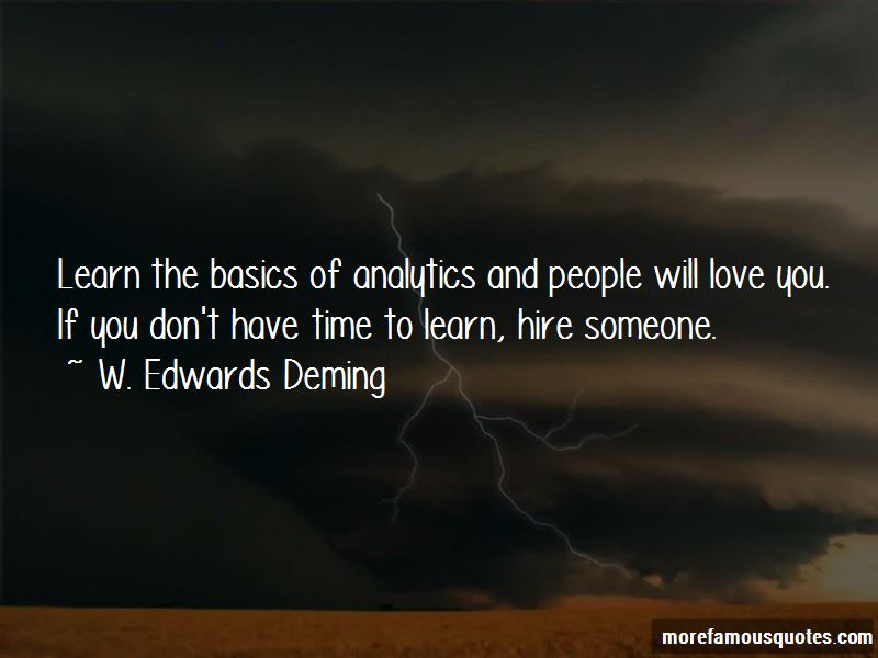 Quotes About Analytics