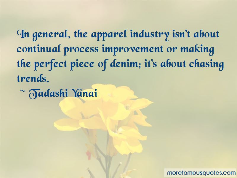 Quotes About Apparel Industry