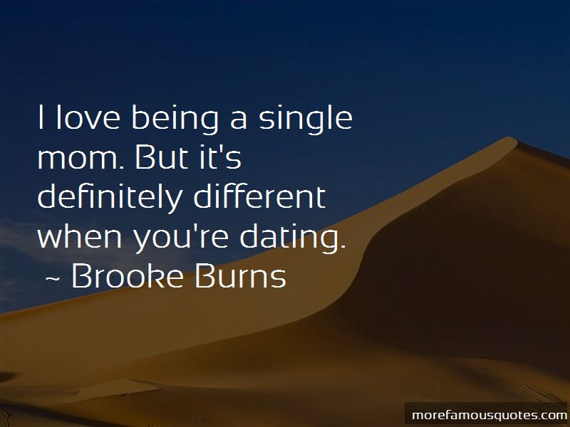 dating single moms quotes
