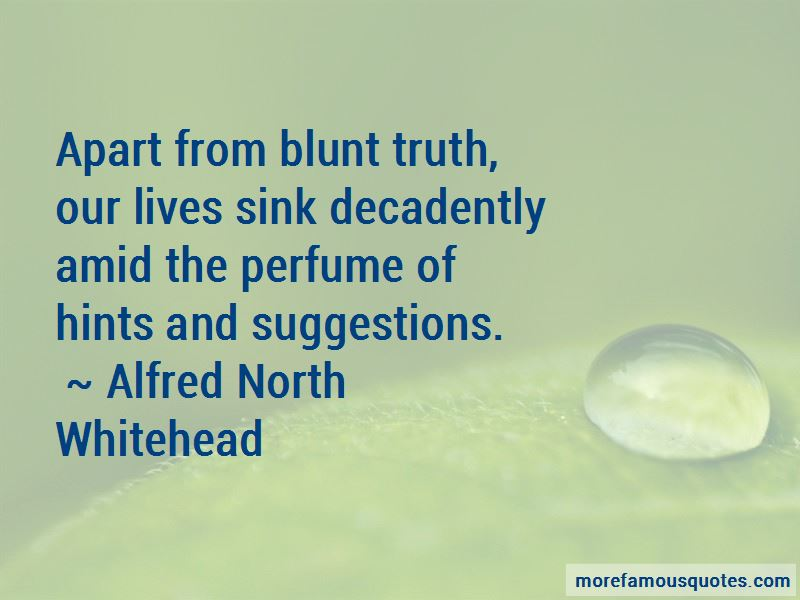 Quotes About Blunt Truth