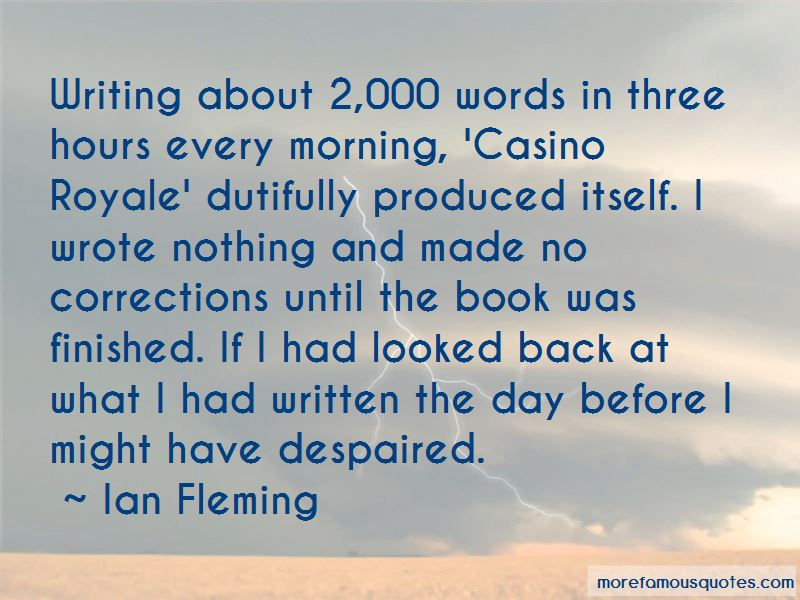 Quotes About Casino Royale
