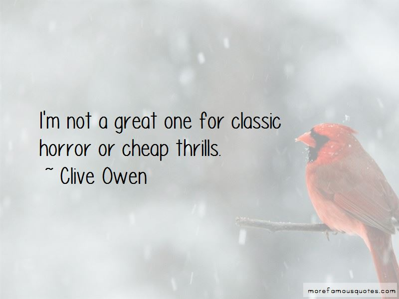 Quotes About Cheap Thrills