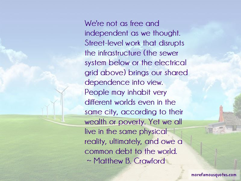 City Infrastructure Quotes Pictures 4