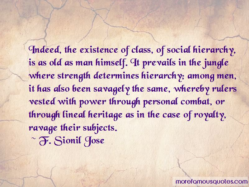 Quotes About Class And Social Hierarchy