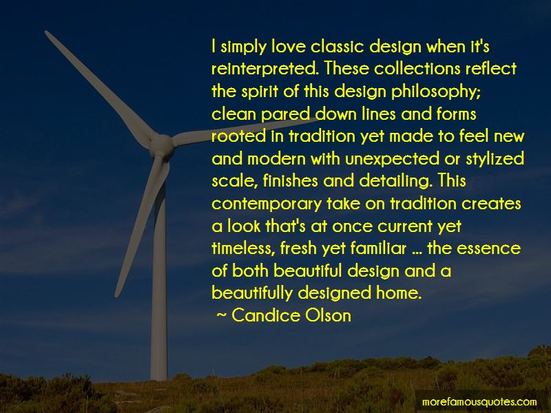 Quotes About Classic Design