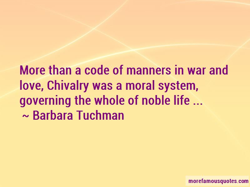 Code Of Chivalry Quotes Pictures 4