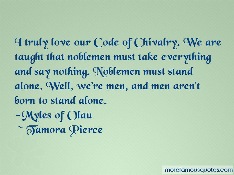 Quotes About Code Of Chivalry