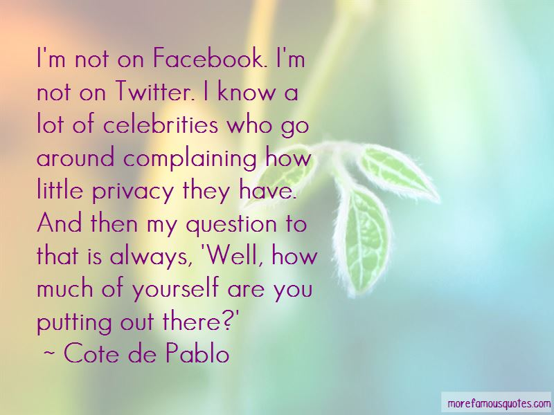 Quotes About Complaining On Facebook