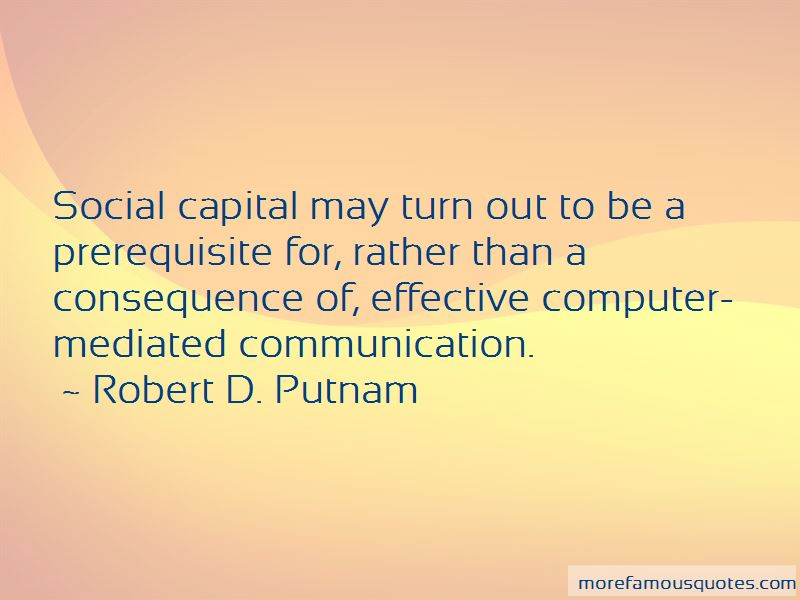 Quotes About Computer Mediated Communication