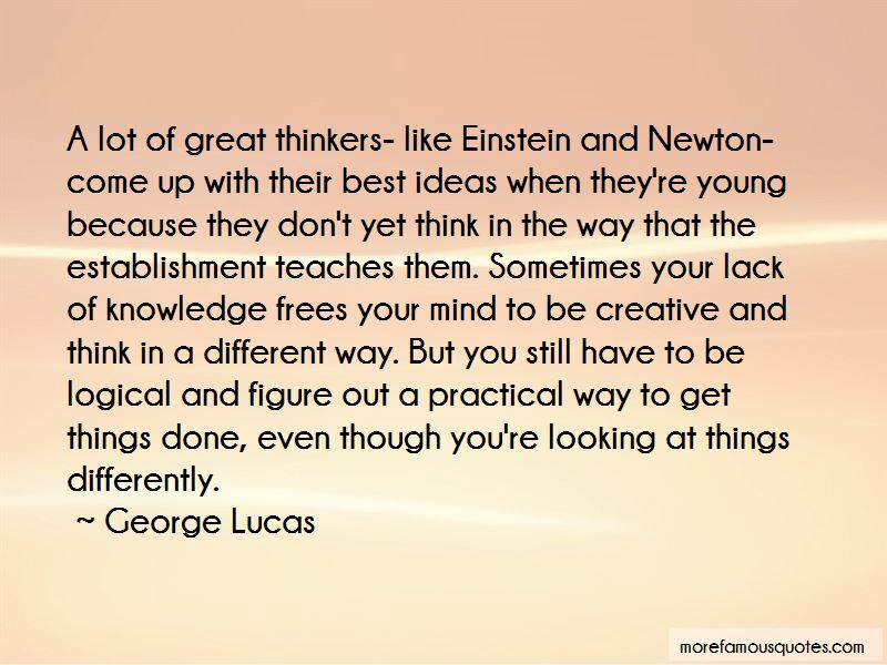 Creative Thinkers Quotes Pictures 4