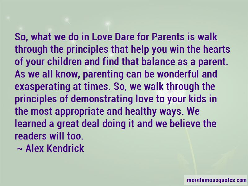 Quotes About Demonstrating Love